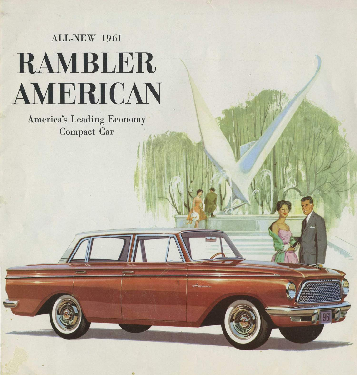 Curbside classic 1961 rambler american the hip ugly for Classic american