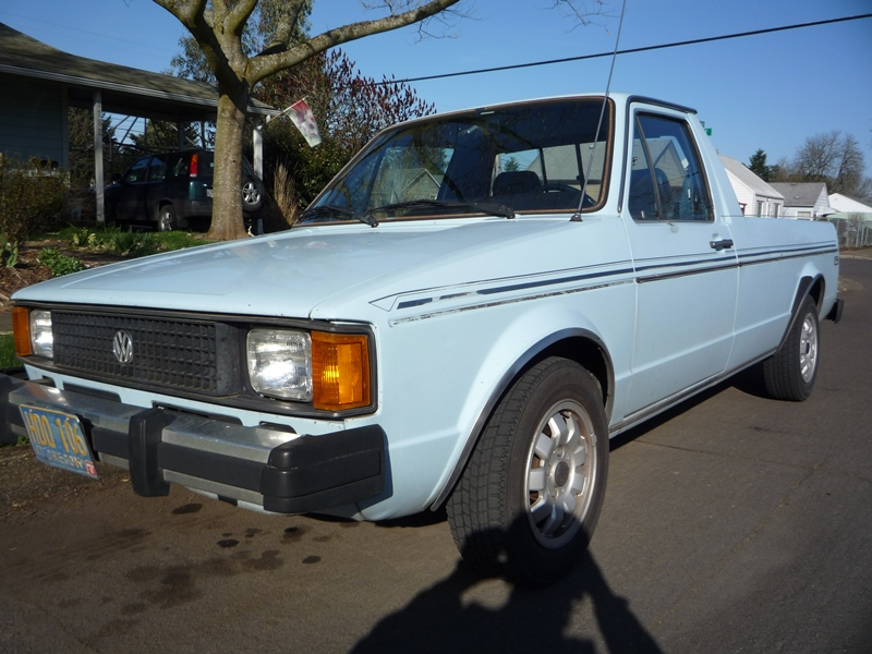 Vw Diesel Truck >> Cars Of A Lifetime 1984 Vw Diesel Pickup Old Rabbit Habits Are