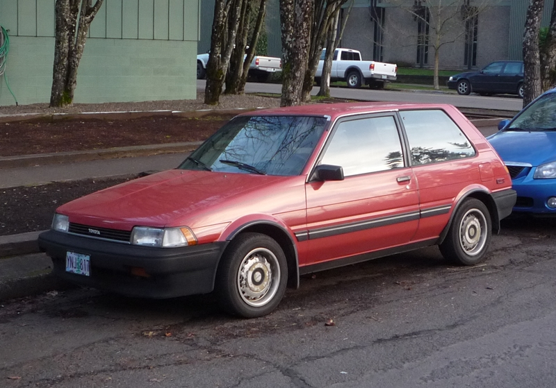 curbside classic 1987 toyota corolla fx16 when corollas still induced lust not sleep curbside classic 1987 toyota corolla fx16