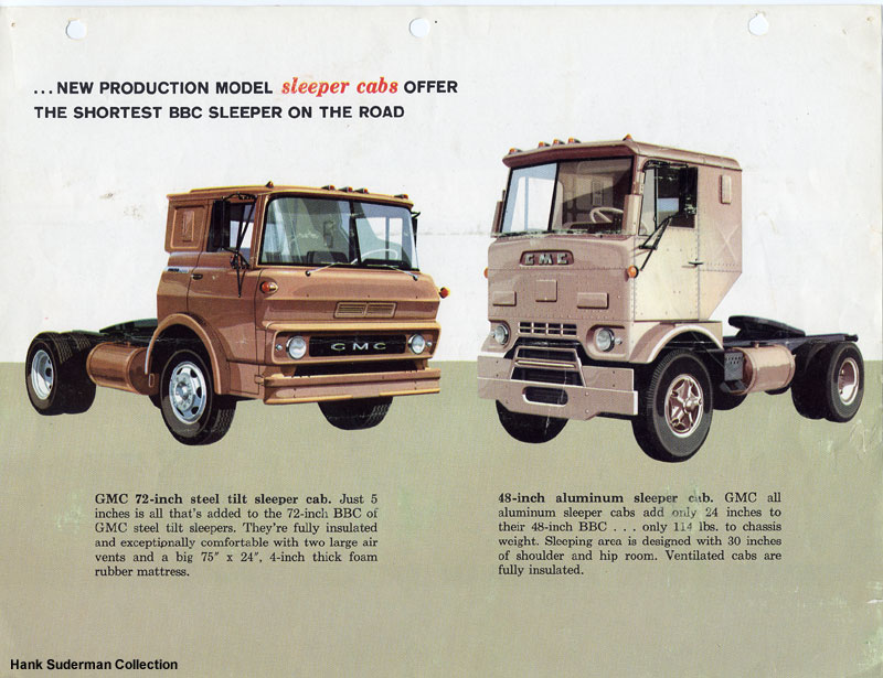 Classic automotive history the rise and fall of the american coe the only way to squeeze a larger trailer into the same length and width box was to shrink the cab the ad copy of the tractor oems shows that they sciox Images