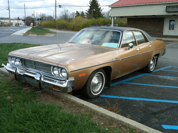 curbside classic 1974 plymouth satellite custom almost our