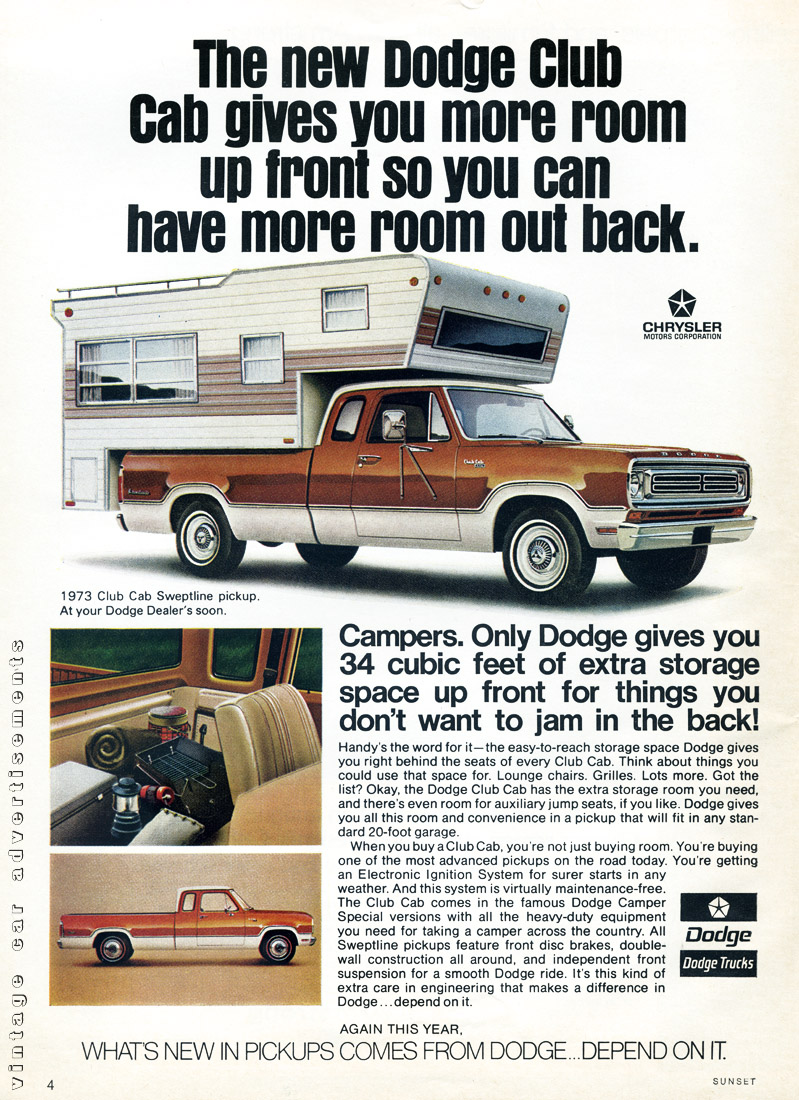 curbside classic 1974 dodge club cab another dodge first not