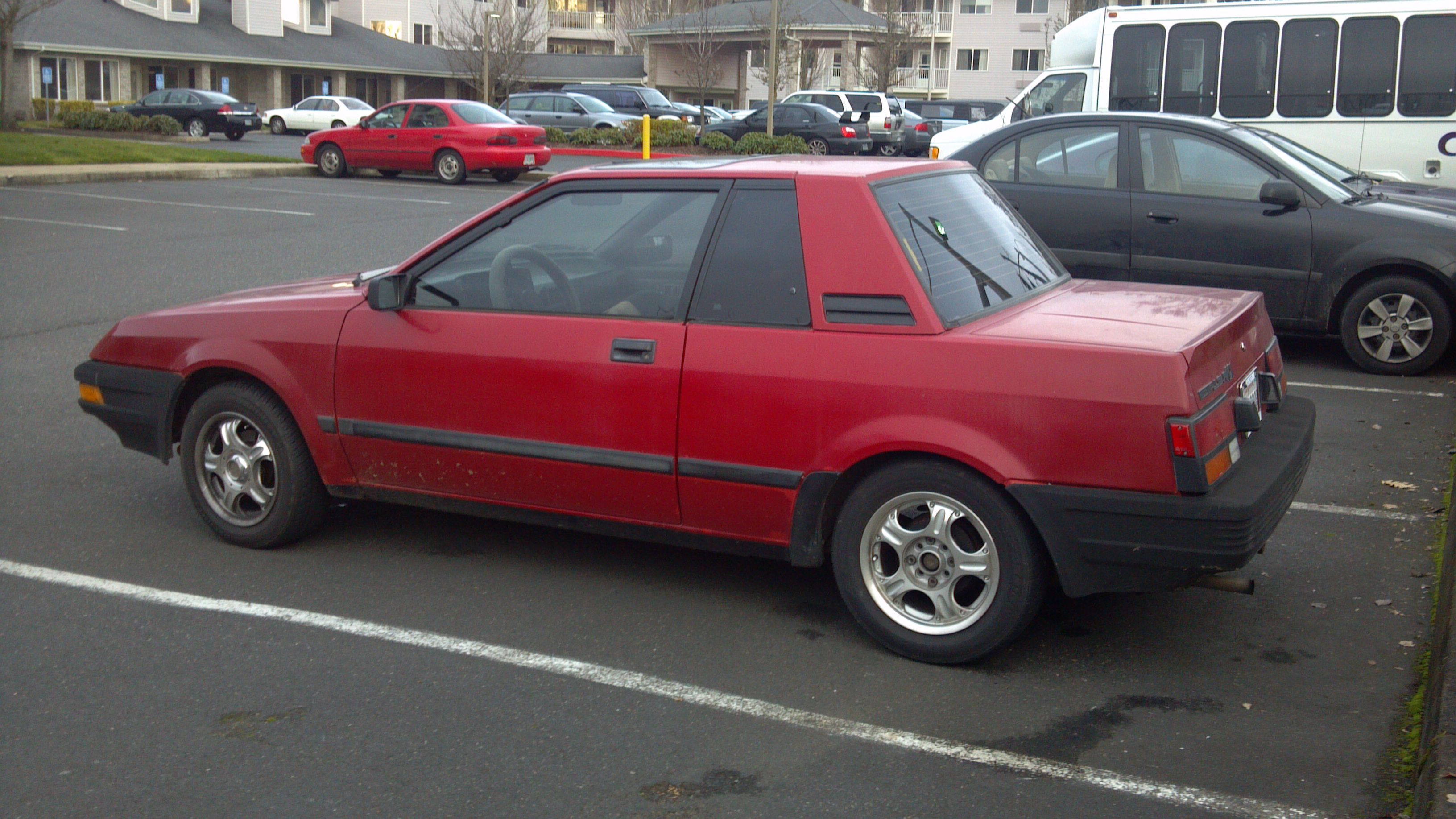 Celicas came in notchback or fastback form but this notchy notchback was the predominant pulsar nx body style as paul discovered we got a few hatchbacks