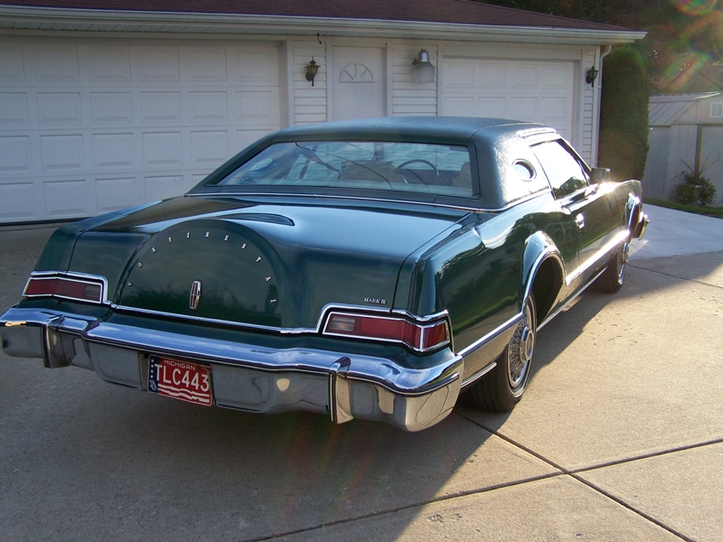 classic curbside classic 1976 lincoln continental mark iv gas fed beef. Black Bedroom Furniture Sets. Home Design Ideas