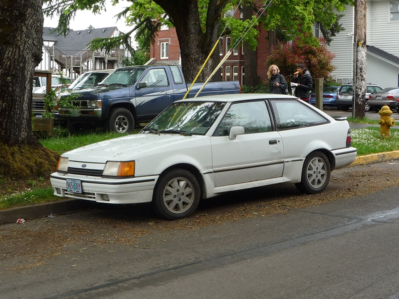 Curbside Classic: 1981-1990 Ford Escort – You Never Get A Second ...