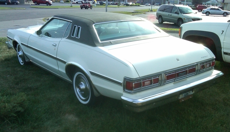 curbside classic 1976 ford elite a highfalutin hash Ford Torino Elite chevrolet s introduction