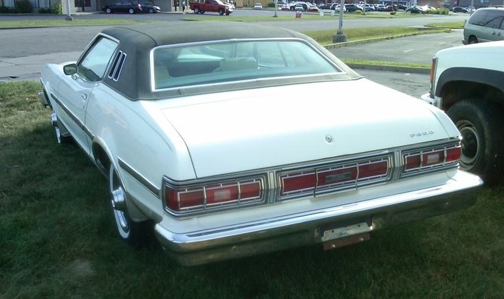 curbside classic 1976 ford elite a highfalutin hash 1977 Ford Falcon Coupe ford