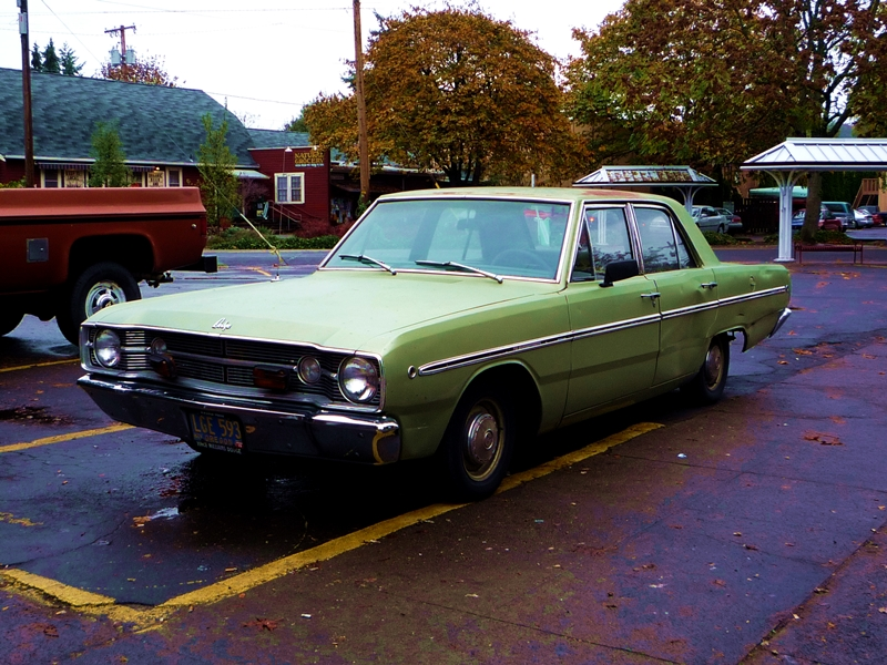 """Curbside Classic: 1968 Dodge Dart – """"Which Old Folks Remember As A ..."""