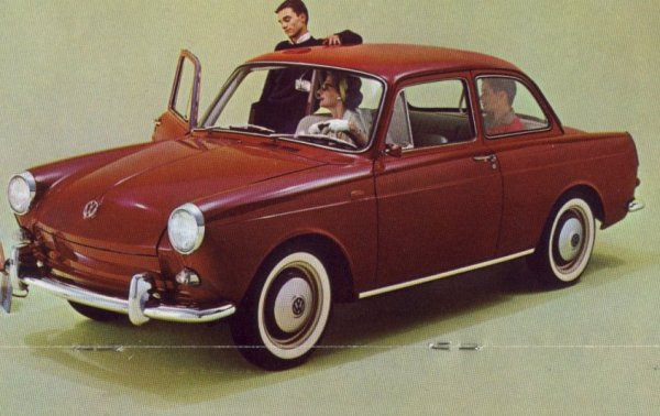 VW 1500 1962notchback