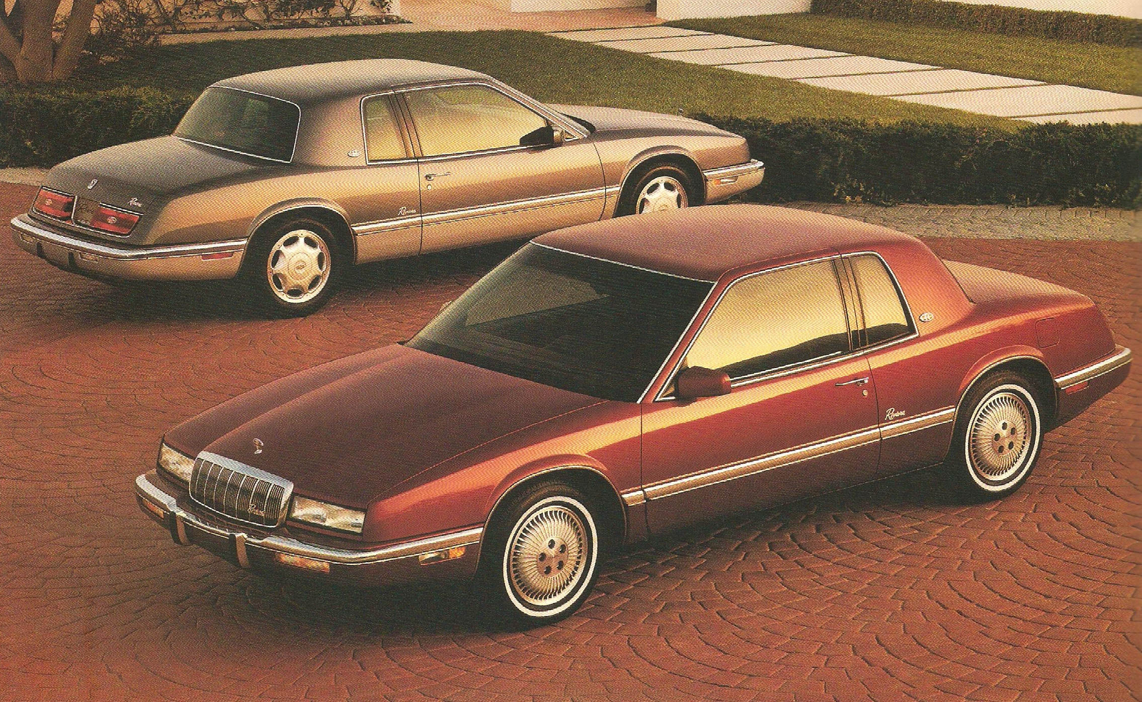curbside classic 1989 buick riviera what the 1986. Black Bedroom Furniture Sets. Home Design Ideas