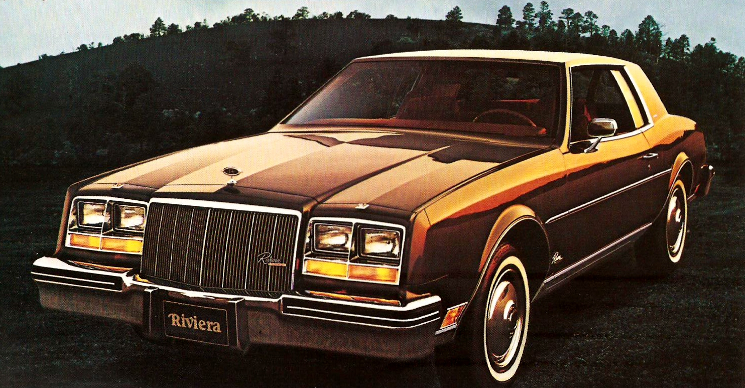 The Downsized 1977 Rivieras Were All New And Had Even More