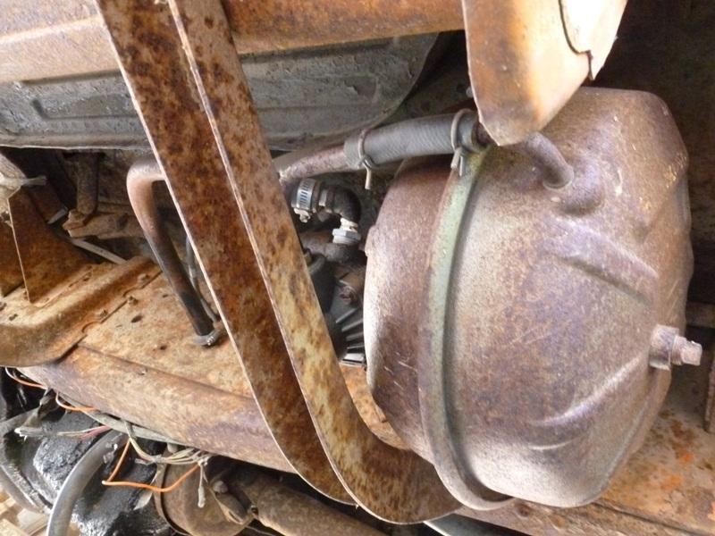 Ford Truck Brake System : Curbside classic ford f dump truck still hard