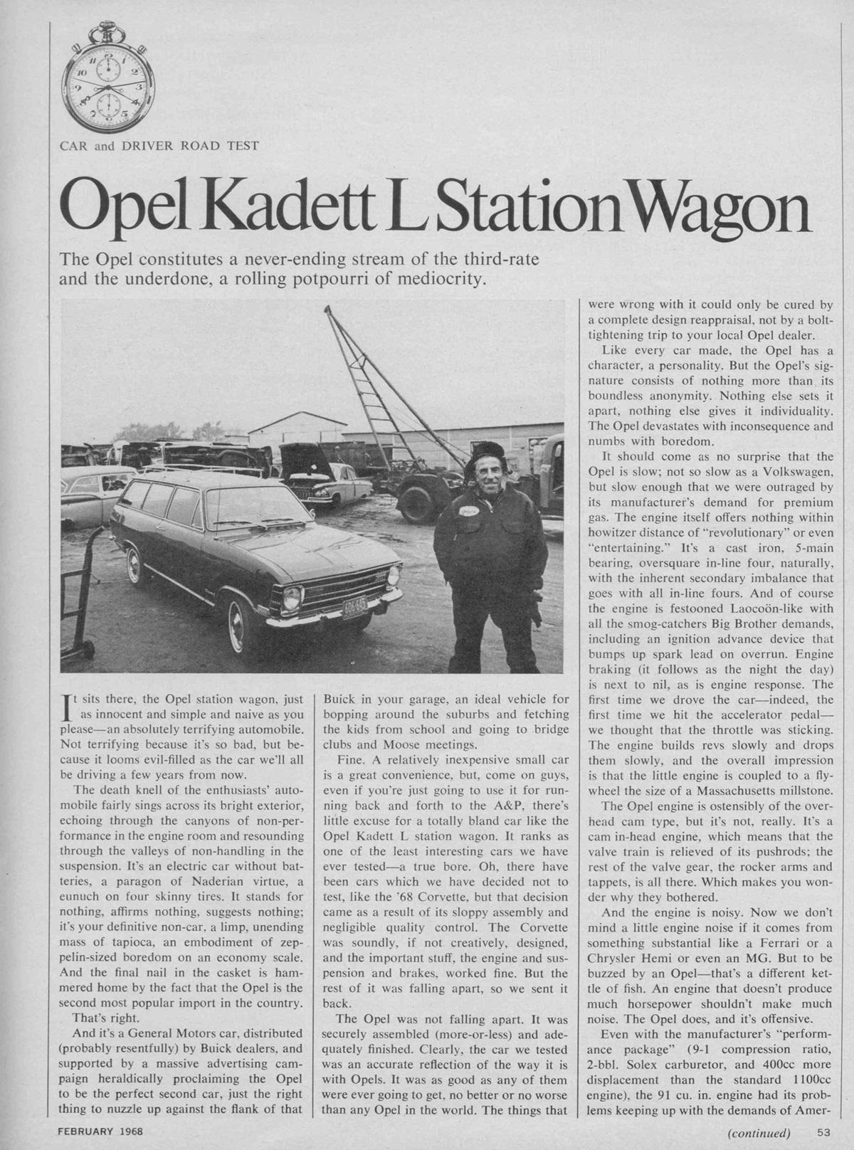 Kadett Asassination Page 1