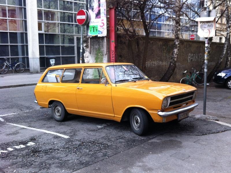 Opel station wagon 1973