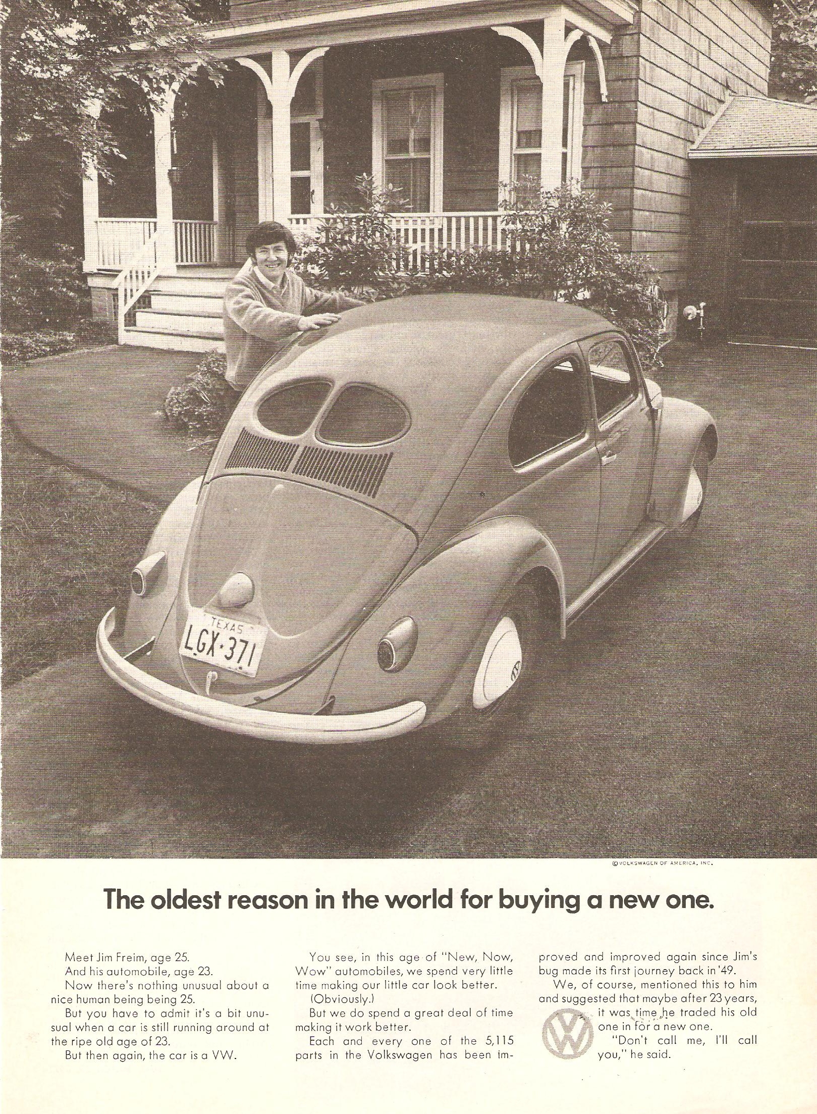 Mid America Vw >> VW Advertising in the Seventies: From Classic DDB to a New ...