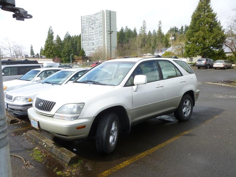 2000 lexus rx300 suv