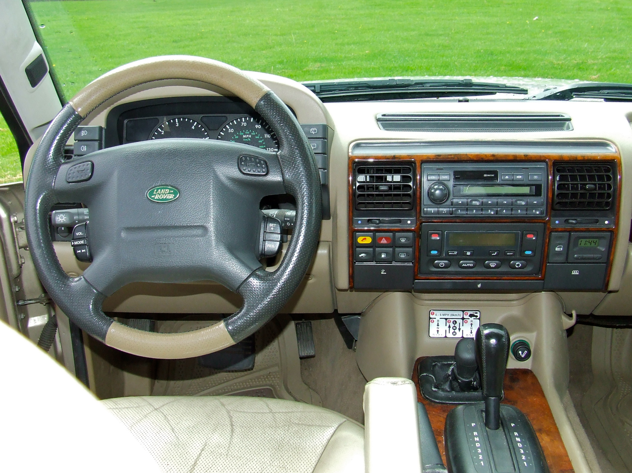 Since I could not have a Range Rover, and I could not afford an LR3/4, a  nicely equipped Discovery II was my next best thing. Yes, I know about  Lexus, ...