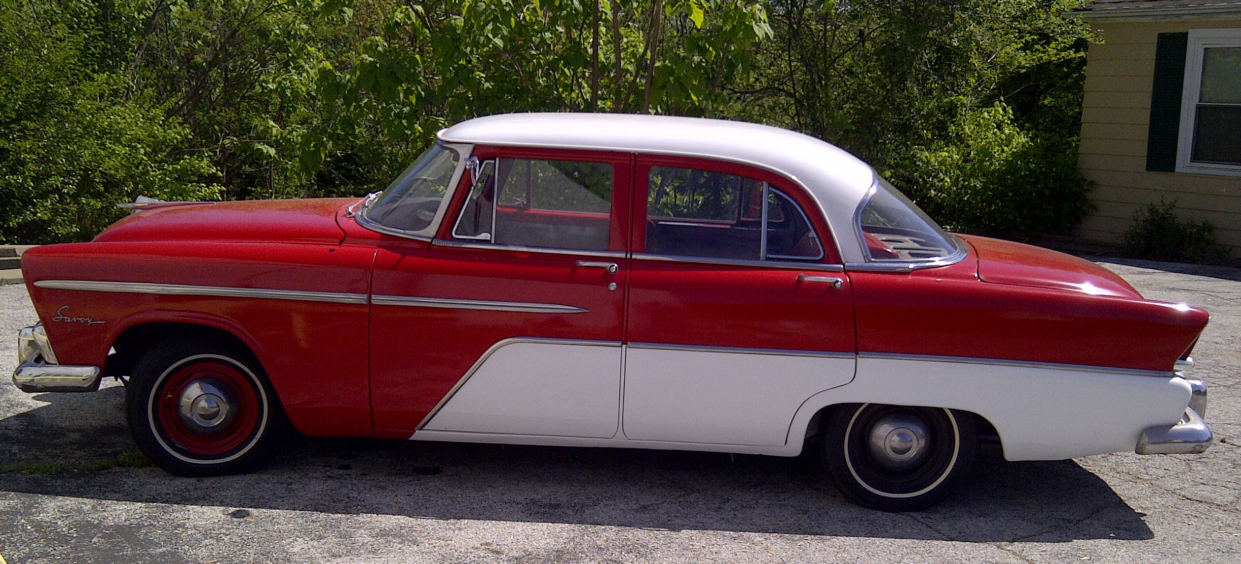 Curbside Classic The Elusive 1955 Plymouth Savoy 1950 To Cars Second