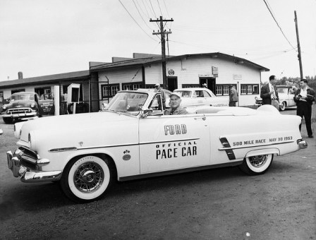 Automotive history indianapolis 500 pace cars part 2 for Ford motor company history background