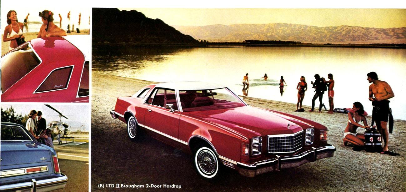 So ... & Curbside Classic: 1977 Ford LTD II Brougham \u2013 The Thunderbird\u0027s ... Pezcame.Com