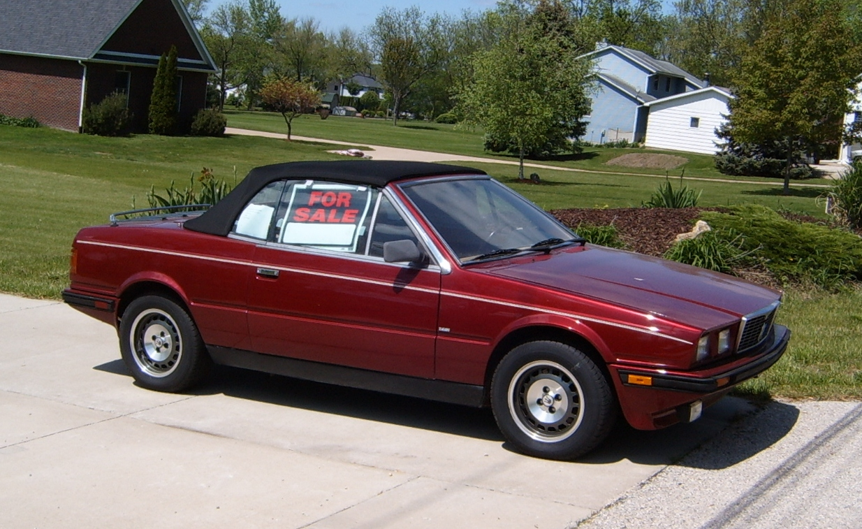 How Much Are Maseratis >> Curbside Classic 1986 Maserati Biturbo Spyder Do You Feel
