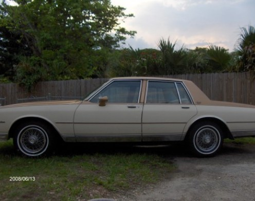 My Curbside Classic: 1980 Chevrolet Caprice Classic – It's The NEW
