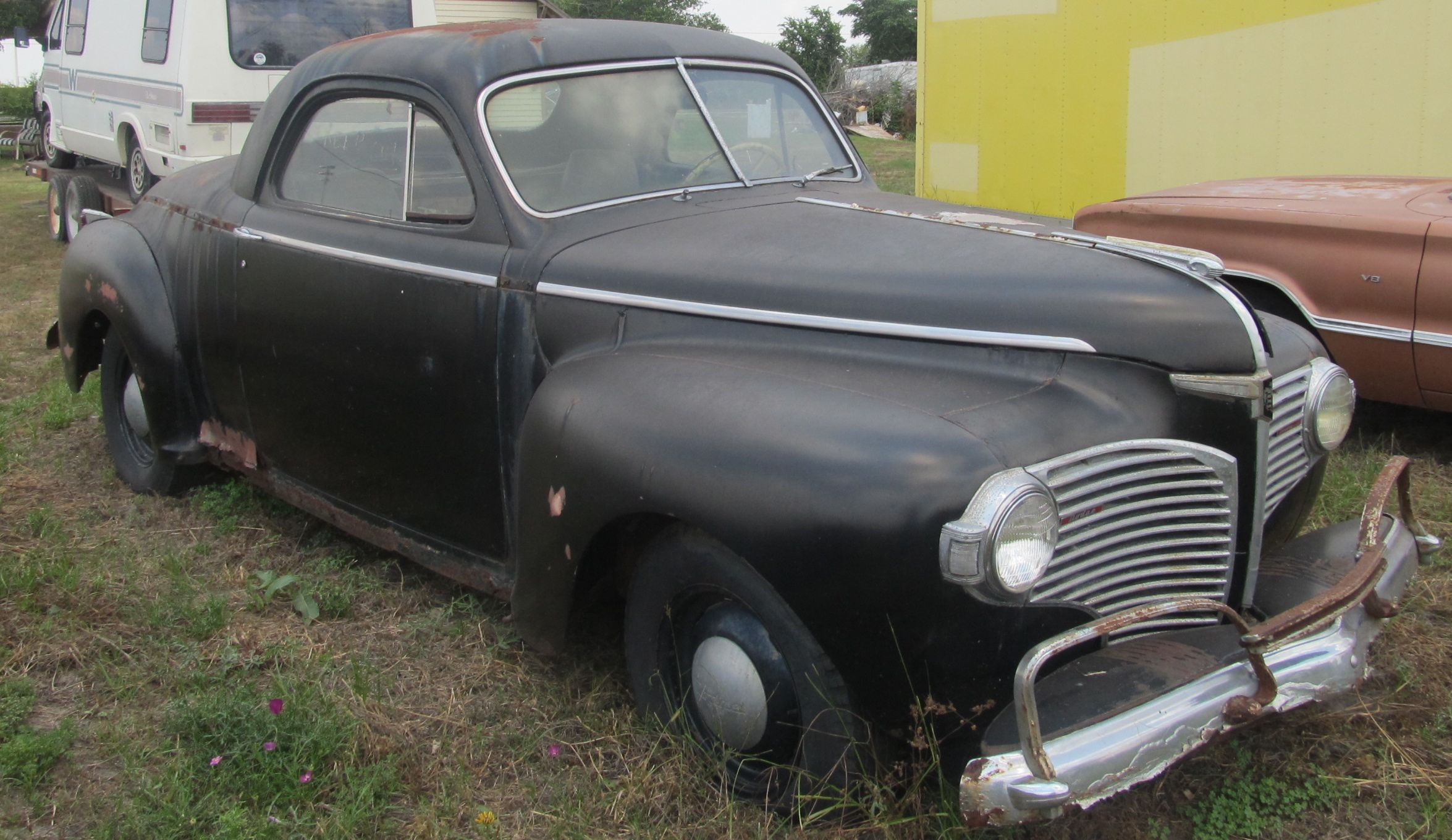 Curbside Classic 1941 Dodge Business Coupe Gives America Plymouth Deluxe 2 Door The