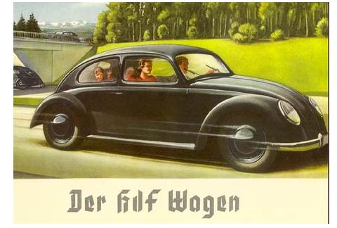 And The Volkswagen Had A Different Brief Too To Transport Middle Class Family Comfortably On Germanys New Autobahns At 100kmh With Fuel Consumption