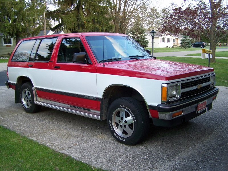 Curbside Classic 1991 Chevrolet S-10 Blazer Four Door u2013 You Canu0027t Blame A Guy For Trying & Curbside Classic: 1991 Chevrolet S-10 Blazer Four Door u2013 You Canu0027t ...