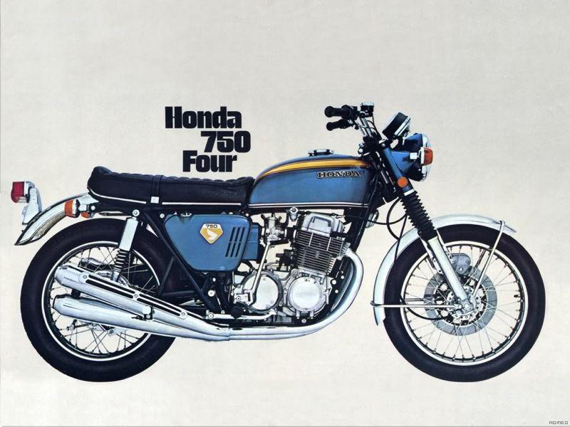 Motorcycle History: 1965 Honda CB450 – The Black Bomber Or