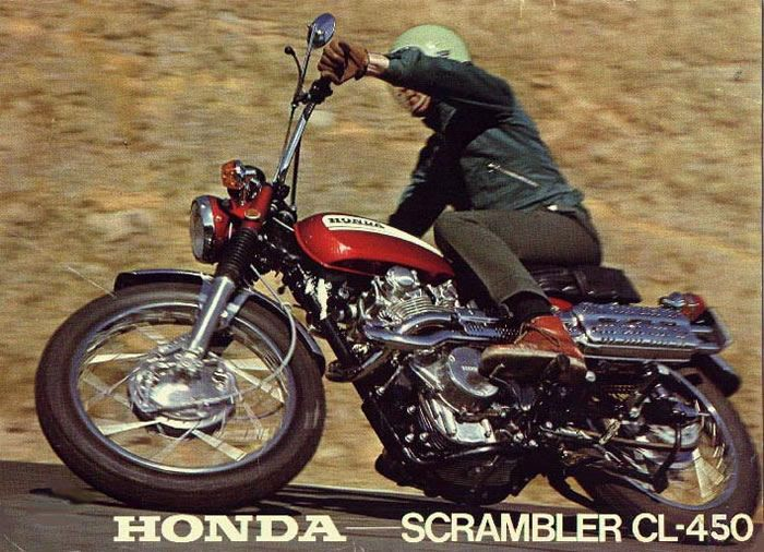 It Did Have A Sister Bike The CL450 Dual Sport Or Scrambler Although Most Of Differences Between Them Were Cosmetic CL450s Higher Pipes