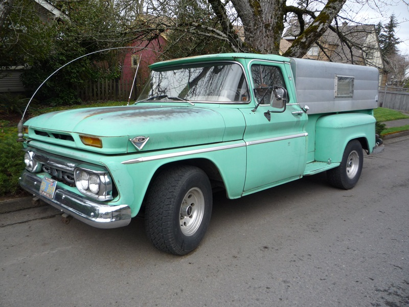 Curbside Classic: 1963 GMC Pickup – The Very Model Of A Modern V6 ...
