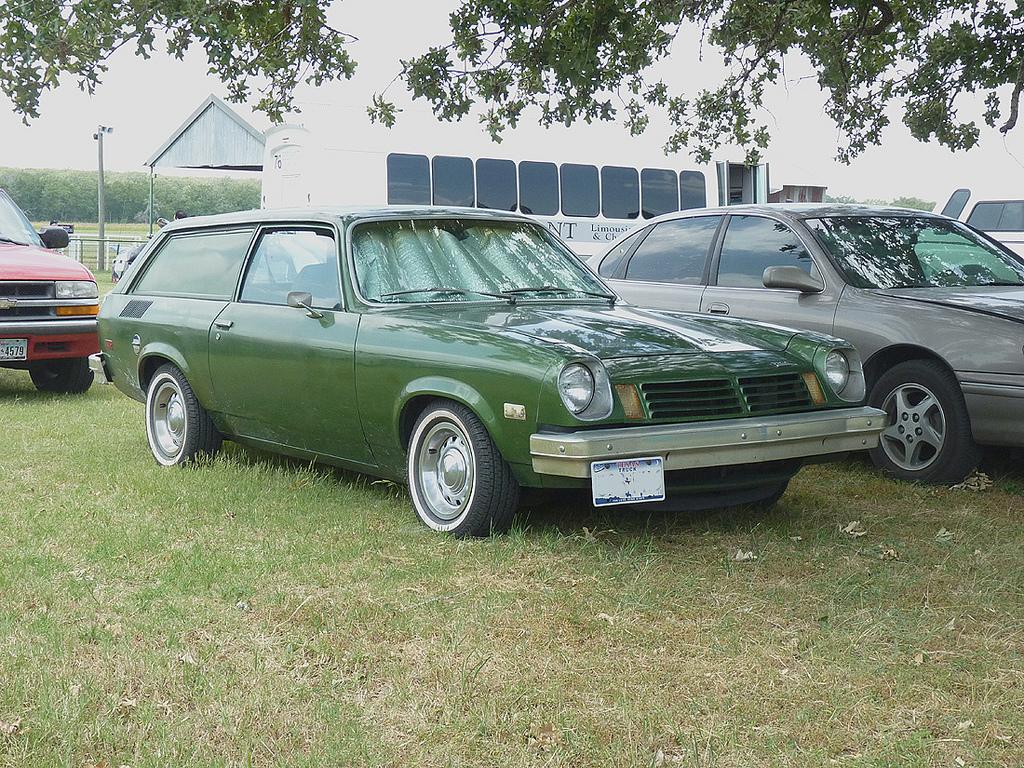 Curbside Classic: 1974 Chevrolet Vega Panel Express – A Sedan ...