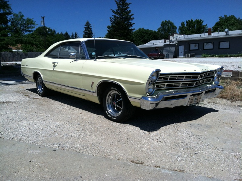 curbside capsule 1967 ford galaxie 500 fastback a nod. Cars Review. Best American Auto & Cars Review