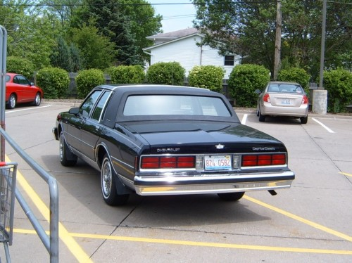 curbside classic 1990 chevrolet caprice classic brougham ls embarrassing fwd cadillacs since 1987 curbside classic 1990 chevrolet caprice classic brougham