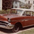 (first posted 9/9/2012)    My first car was a 1957 Chevy Bel Air two-door post, with the Blue Flame Six and Powerglide. My dad had bought it in 1965, for $300, […]
