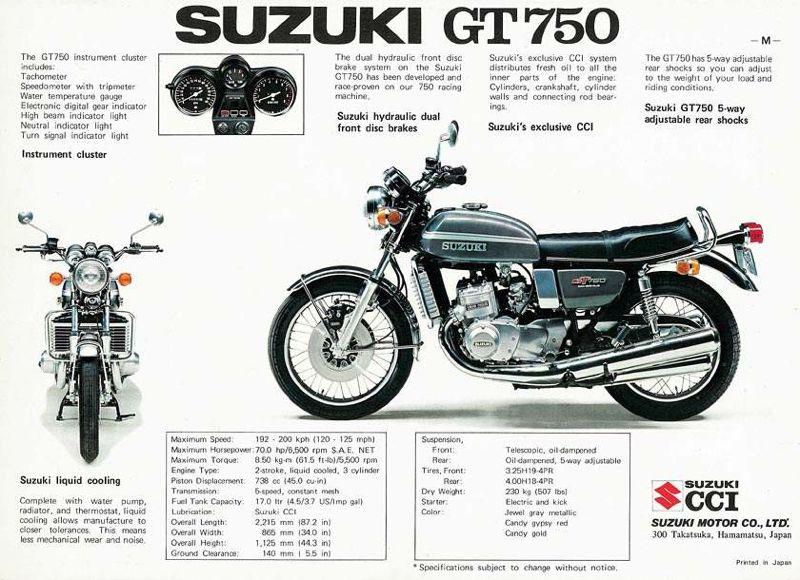 sunday salon  suzuki t500  u2013 the best bike  almost  nobody