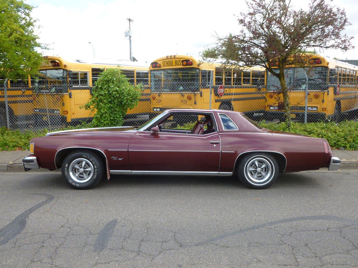 Curbside Classic 1976 Pontiac Grand Prix Grand Size Medium Prize