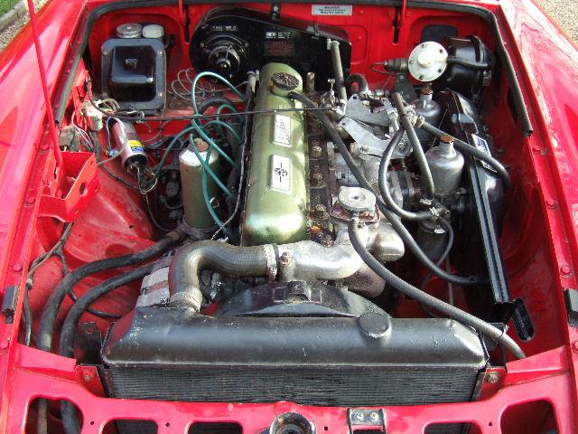 Mgb Engine Swap 4 Cylinder