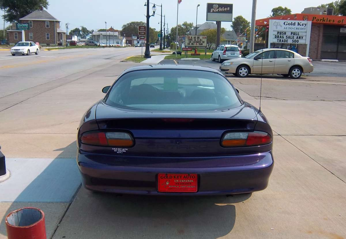 Curbside Classic 1997 Chevrolet Camaro  Conspicuously Purple