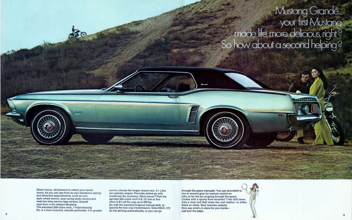 Curbside Classic 1971 Ford Mustang Grande Como Se Dice
