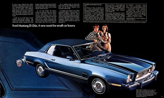 74 Mustang II Ghia