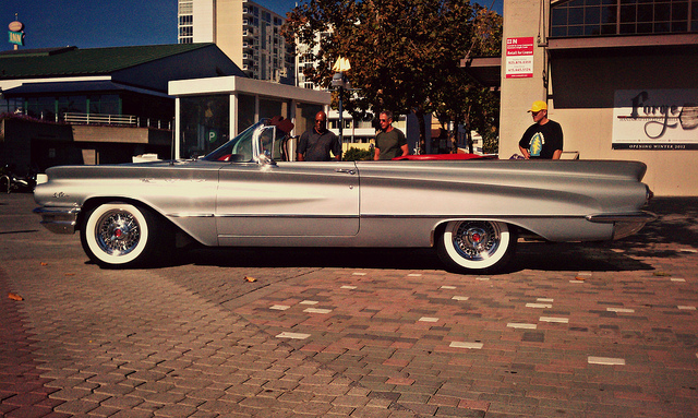 Car Show Classic 1960 Buick Lesabre Convertible Id Really Rather