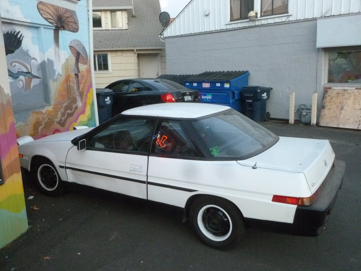 Help Wanted: Someone To Write Up This Subaru XT (Or Any Other Car)