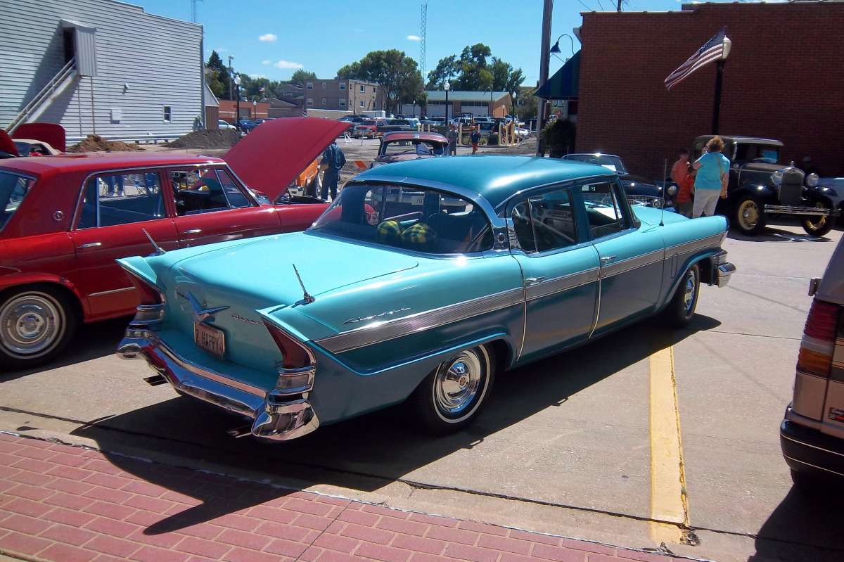 Used Cars Quad Cities >> Car Show Classic: 1957 Packard Clipper Town Sedan – I Used To Be Somebody