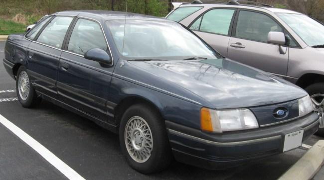 1st_Ford_Taurus_GL_sedan