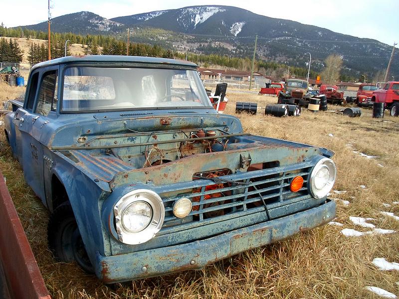 Curbside Classic: A Big, Basic Bruiser Of A Truck With A Slant Six