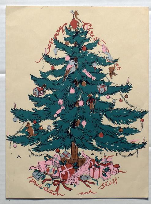 my curbside christmas classic 1967 consolidated novelty scotch pine decking the halls for fifty years - Classic Christmas Trees