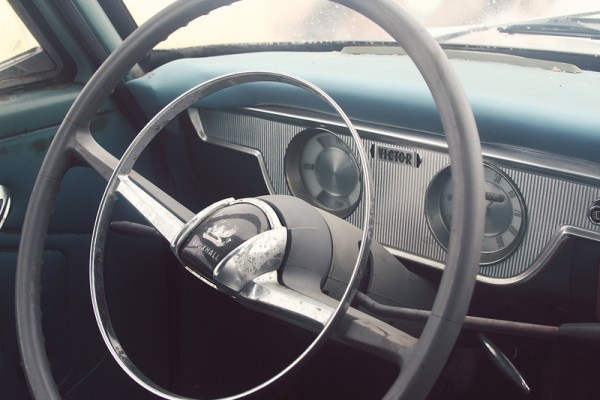 1962 Vauxhall Victor wagon steering wheel