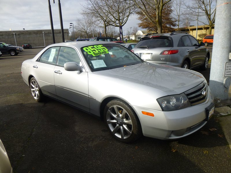 Cc Capsule 2003 Infiniti M45 The Closest Thing To An American